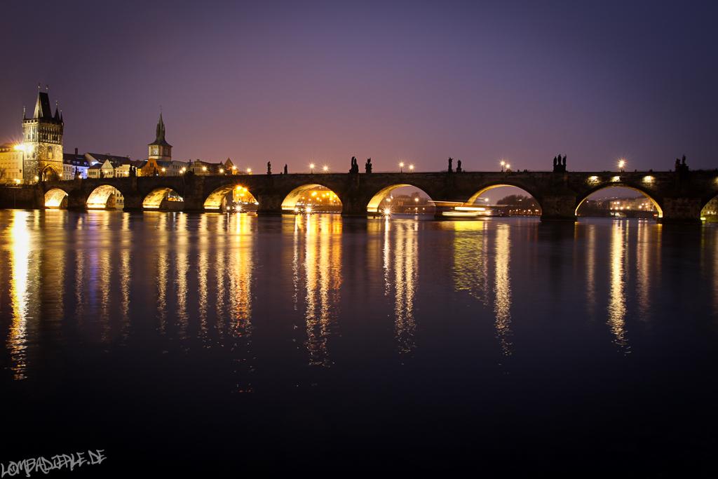 Praha im März