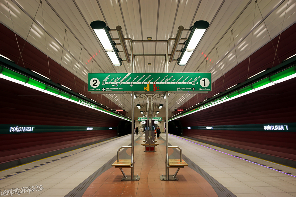 Special Subway/Metro Pictures from Prague ;-)